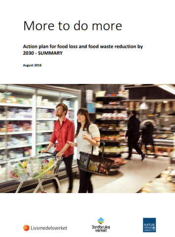 More to do more. Action plan for food loss and food waste reduction by 2030