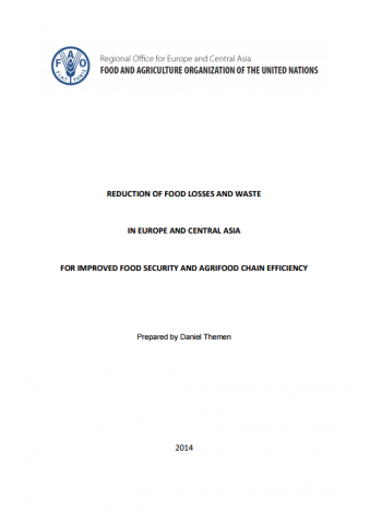 Food Losses and Waste in Europe and Central Asia. Themen, Daniel
