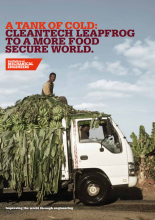 A Tank of Cold: Cleantech Leapfrog to a More Food Secure World. IMechE.