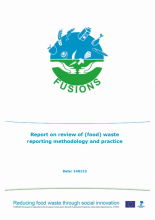 Report on review of (food) waste reporting methodology and practice