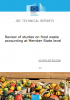 Review of studies on food waste accounting at Member State level