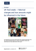 UK food waste – Historical changes and how amounts might be influenced in the future. WRAP